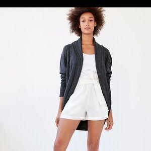 Aritzia Size Small Wilfred Grey Diderot Sweater